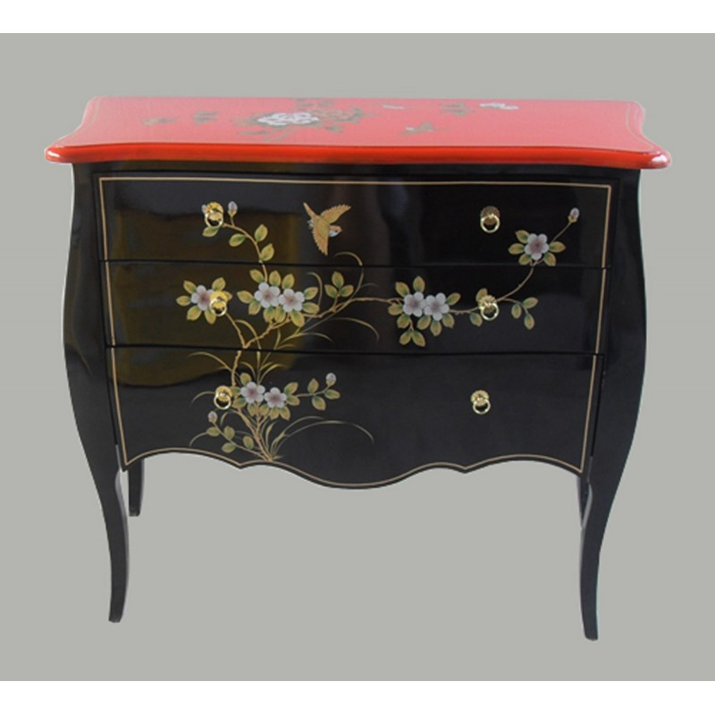 Commode Chinoise Bicolor Meubles