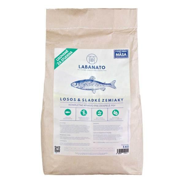 krmivo granule pre psov lisované za studena LABANATO 5kg