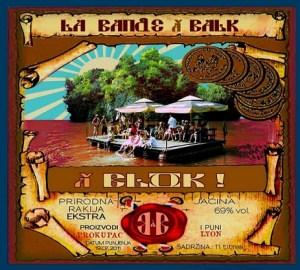 Pochette d'album de La Bande à Balk - À Blok !