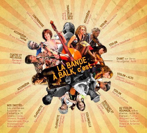 La Bande à Balk - Back to Balk - musiciens