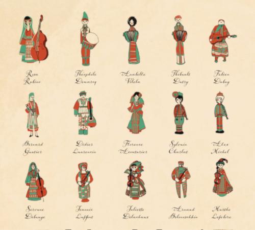 La Bande à Balk - Bulgars' Banquet - Musiciens