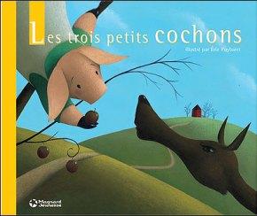Les 3 petits cochons, Jacobs-Puybaret, une jolie réécriture