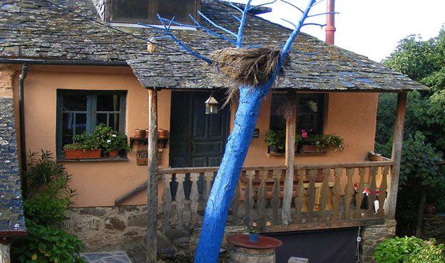 Fachada Casa La Nogala web