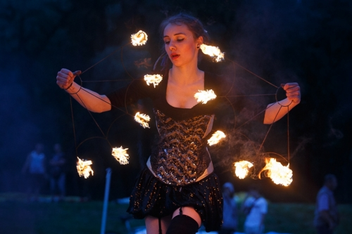 Labareda Fireshow - Ladies Night - Szymon Duda (5)