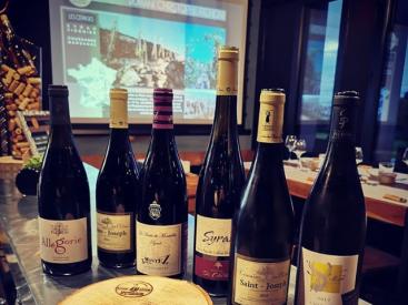 La BarriK AtypiK - dégustation Côtes du Rhône