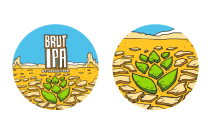 Stickers Brut IPA