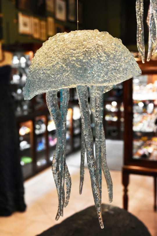 medusa de cristal de murano