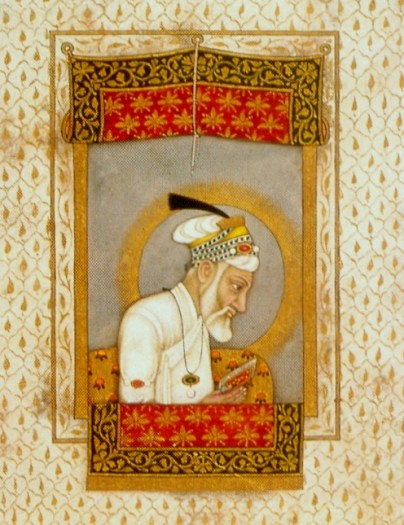 Aurangzeb_reading_the_Quran