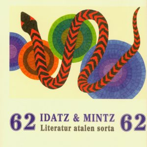 Idatz & Mintz 62 – Literatur atalen sorta