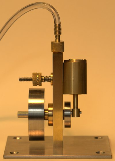 Single Acting Oscillating Steam Engine The Lab Book Pages