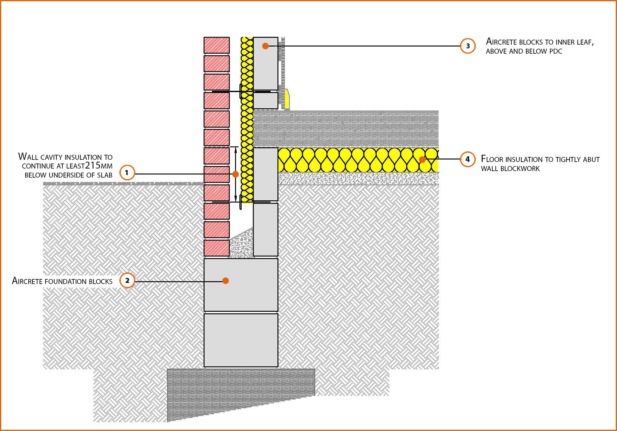E5mcpf28 Suspended In Situ Concrete Floor Insulation