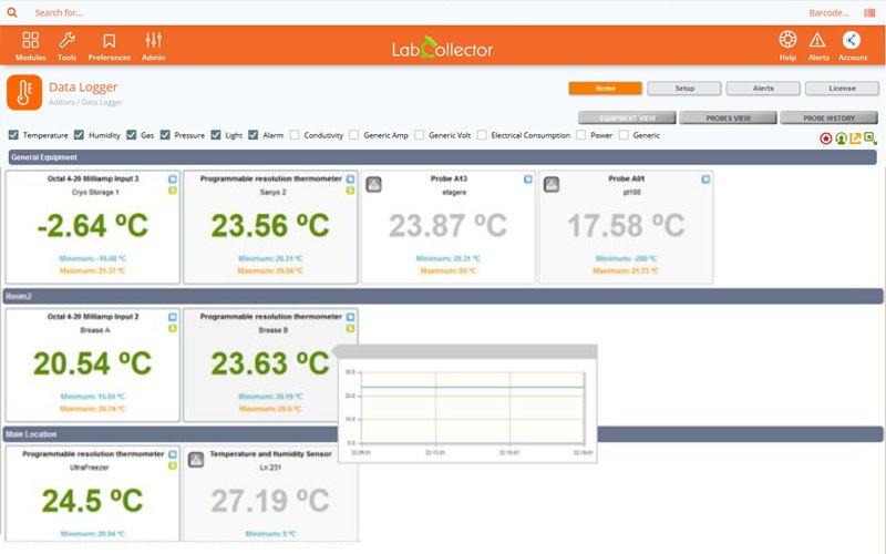 LIMS Data Logger