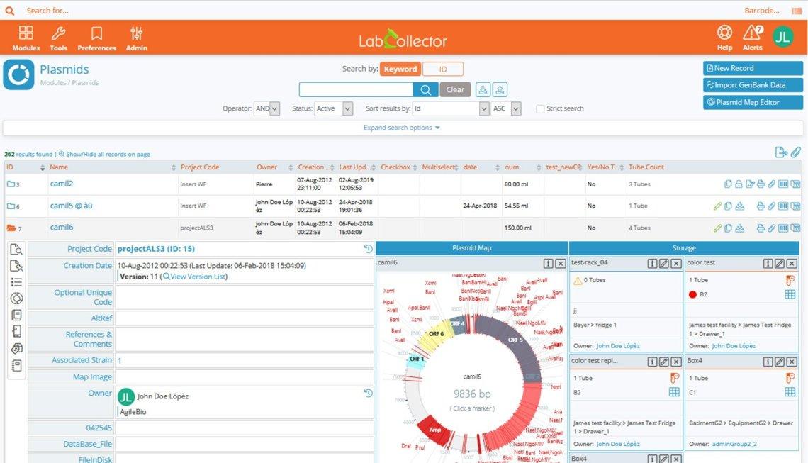 plasmid module screenshot v6