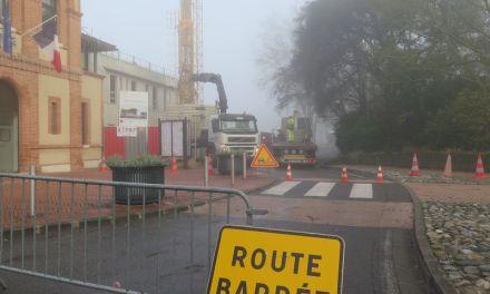 Extension de la Mairie : fin du gros œuvre