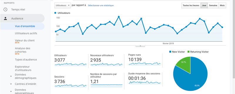 Google Analytics - Agence web - Label Site Nantes