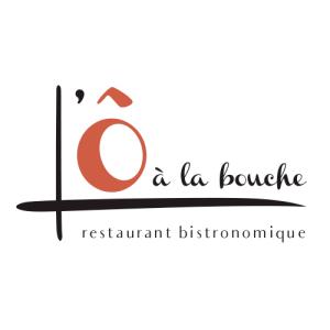 Création de logo pour le restaurant L'Ô à la Bouche