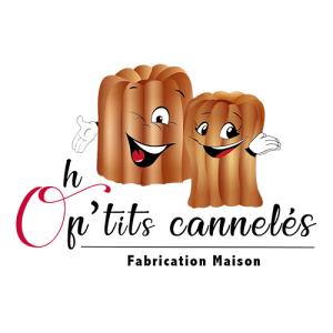 Création de logo pour Oh P'tits Cannelés