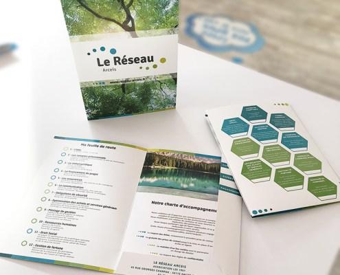 Nouvelle plaquette Réseau Arceis 2018