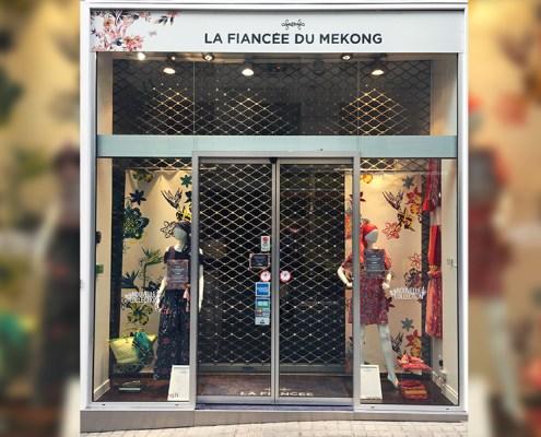 Enseigne La Fiancée du Mekong à Nantes (44)