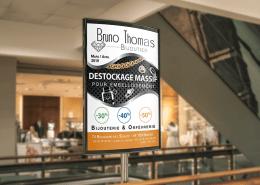 Campagne publicitaire pour le bijoutier Bruno Thomas