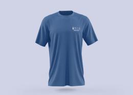Réalisation d'un marquage de T-Shirt pour l'entreprise PEBServices par Label Communication