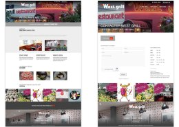 Un nouveau site pour West Grill
