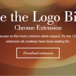 Make the Logo Bigger – Jetzt auch als Chrome Extension