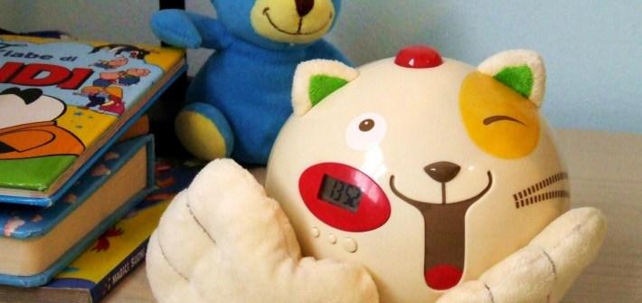 sveglia bambini montessori