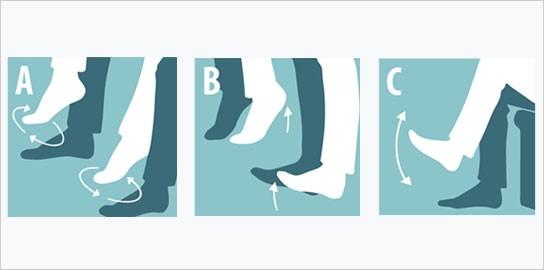 esercizi gambe trombosi viaggiare volare in gravidanza