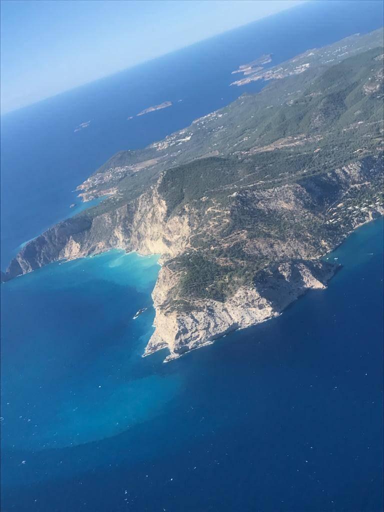 Arrival to Ibiza
