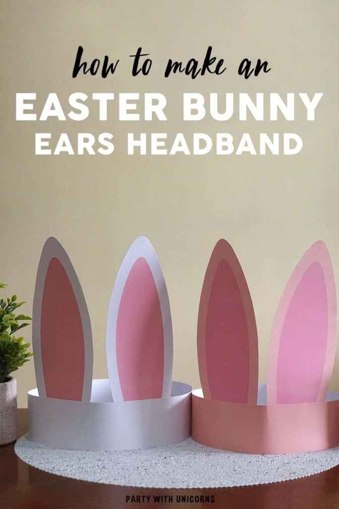 Top 10 DIY Easter Crafts for Toddlers and Kids | Find easy DIY Easter crafts ideas, such as how to make baskets, homemade decorations, eggs, and Easter bunnies. Perfect spring fun for toddlers and for kids | Easter Bunny Ears