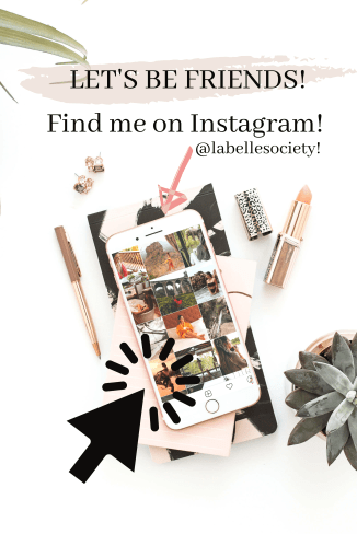Find me on Instagram @labellesociety. Gift Guide Ideas for The Hostess