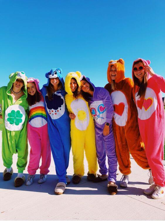 Care Bears Group Costume | The best group Halloween costumes for girls
