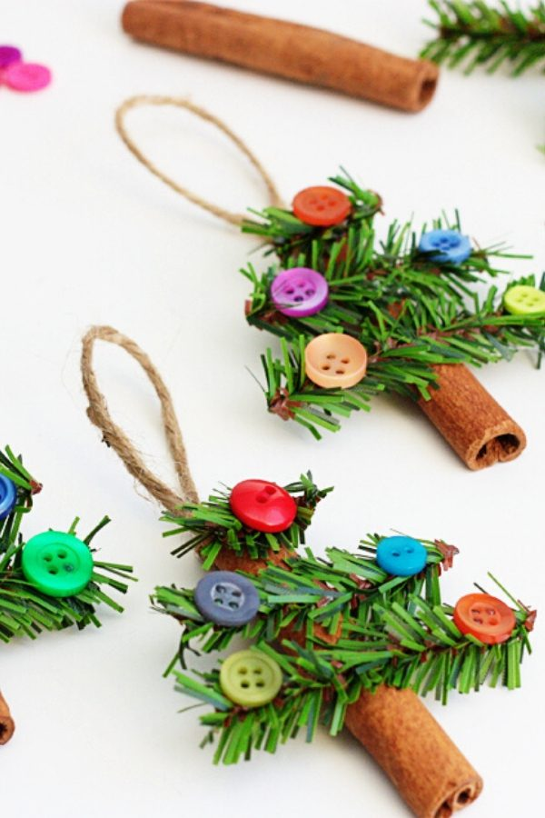 Cinnamon Stick Tree Ornaments Christmas Tree Decor DIY