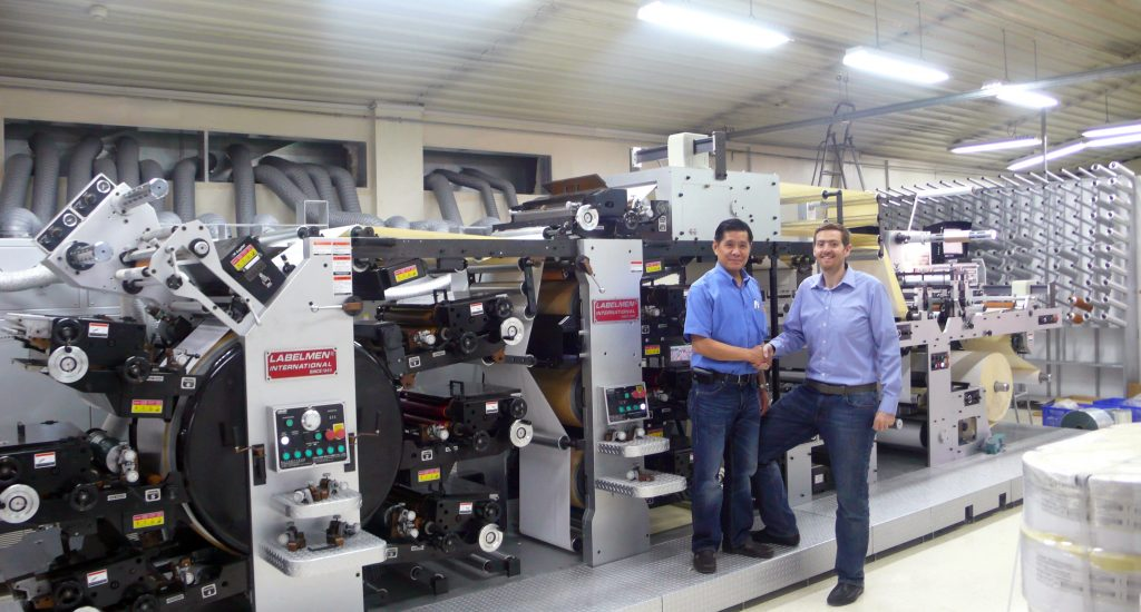 3-leading-self-adhesive-label-printer-in-syria-machine-installation