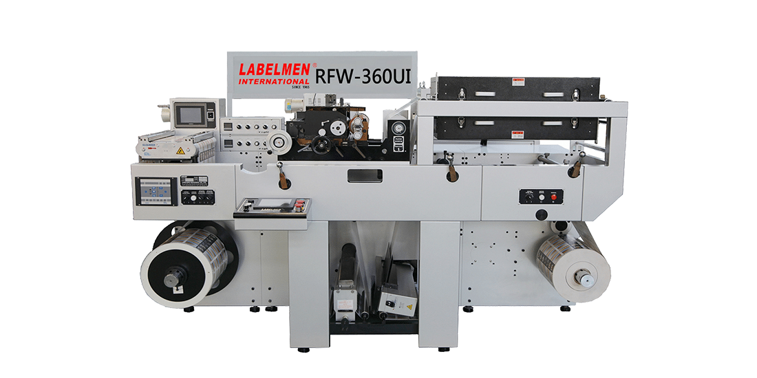 FULL ROTARY LETTERPRESS PRINTING MACHINE FOR IN MOLD LABEL INDUSTRY-RFW-360UI