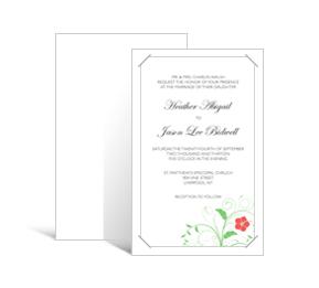 Fl Custom Layered Wedding Invitations Diy Invites Cards With Vellum