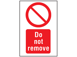 Do not remove symbol and text safety sign. | PS1410 ...