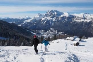 Wintersport in skigebied Carroz en heerlijk off-piste Frankrijk