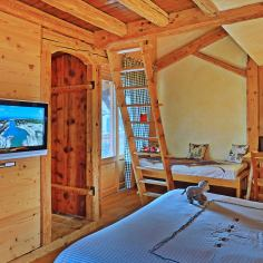 Aigles room - Bergerie private rooms in les Carroz