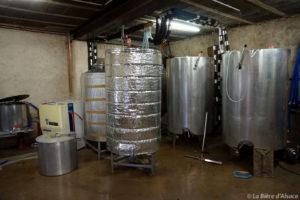 Brasserie Framont - fermenteurs