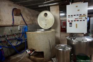 Brasserie Framont - cuves de brassage