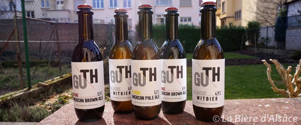 Brasserie Guth - Gamme de bières