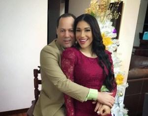 Dianabell Gómez y Franklin Mirabal