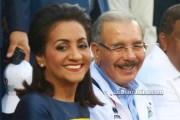 Cándida Montilla y Danilo Medina