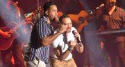 Romeo Santos y Frank Reyes