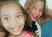 Jennifer Ramírez Núñez y su hija Beverly Hernández, de 11 años de edad