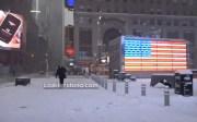 Una gran tormenta de nieve azota Nueva York y el noreste de EE.UU.