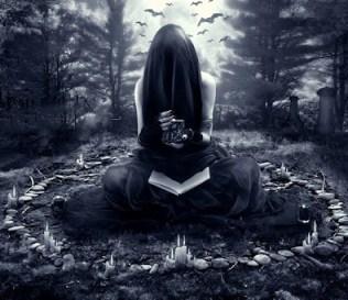 il cerchio magico nel bosco