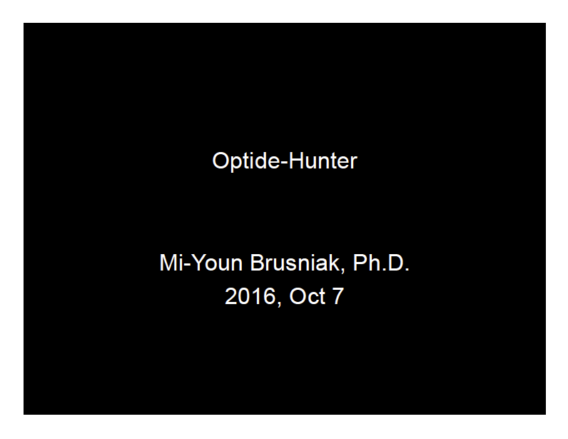 Mi-Youn Brusniak - Optide Hunter